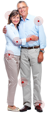 Couple with Pain Locations - Insurance Information